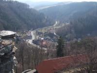 Svojanov - pohled z věže