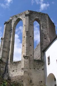 Kuklov - nedostavěný klášter