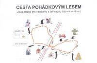 Cesta pohádkovým lesem - SLAVONICE