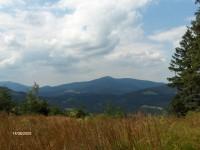 Výhled z cesty na Bílý Kříž 1