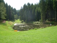 rybníčky u areálu