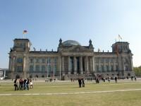 Berlín - Budova Říšského sněmu (Reichstag)