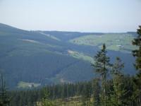 výhled na Úpské údolí
