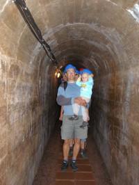 chodba podzemí Stachelbergu