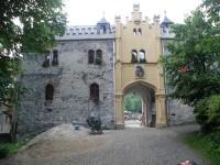 vstupní brána Horního Hradu