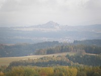 Andělská hora při pohledu z rozhledny