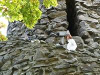 rozhledna na Krásensém vrchu venkovní spirálovité schodiště
