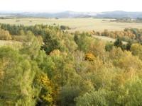 krásy podzimu z rozhledny