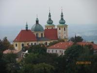 bazilika - pohled z vyhlídkové věže