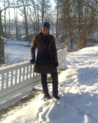 V zimě...
