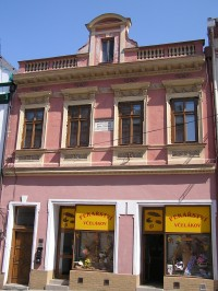 rodný dům Josefa Ressela