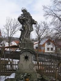 Podlažice – socha sv. Jana Nepomuckého