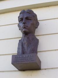Poděbrady - busta Franze Kafky