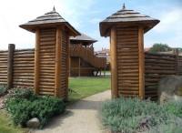 Replika hradiště  - Vysoké Pole