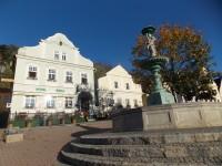 Na náměstí ve Štramberku