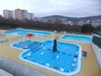 Na koupaliště Panorama ve Zlíně