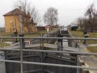 Z Huštěnovic k plavební komoře Babice na Baťově kanále
