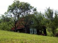 Výhledové místo a kaplička na vrchu Březová v Brumově
