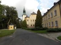 Zámek v místní části Rýmařova - Janovicích