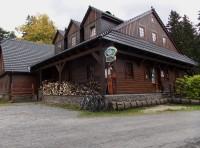 Dřevěná rozhledna nad místní částí Nová Ves na Rýmařovsku