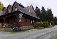 Dolní Moravice - horská chata Na Vyhlídce nad místní čásí Nová Ves