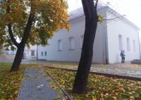 Synagoga u městského parčíku v Kojetíně