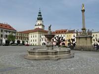 Kašna na Velkém náměstí v Kroměříži