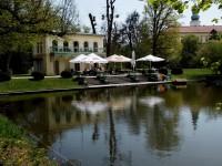 Relaxace na Dlouhém rybníce v Podzámecké zahradě v Kroměříži