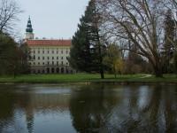 Fontány v Podzámecké zahradě v Kroměříži