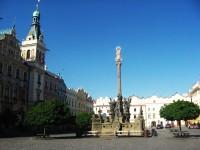 Morový sloup na Pernštýnském náměstí v Pardubicích