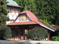 Relaxační místo - Sluneční lázně v Luhačovicích