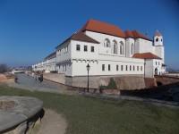 V Brně na hrad Špilberk