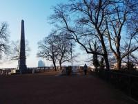 Brno - městský park pod Petrovem - Denisovy sady