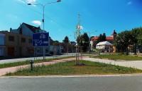 Obnovené náměstí v Malenovicích u Zlína
