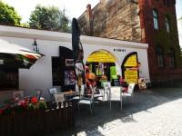 Restaurace U Záviše před zámkem v Hradci nad Moravicí