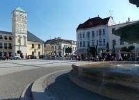 Budova radnice - dominanta Masarykova náměstí v Karviné