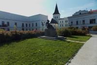 Pomník se sochou T. G. Masaryka v Karviné