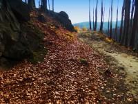 Z Tesáku do Chvalčova -  podzimní krajinou