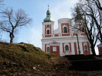 poutní kostel Panny Marie Sedmibolestné
