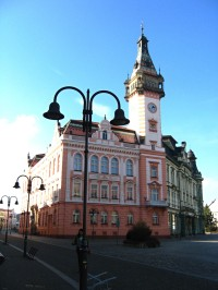 budova radnice v centru Krnova