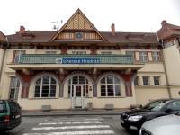 budova vlakového nádraží