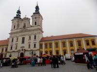 Masarykovo náměstí s kostelem sv. F. Xaverského