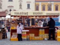 velikonoční stánek na Masarykově náměstí