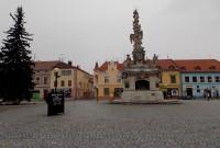 Mariánské náměstí s Morovým sloupem