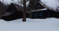 Procházka jarním sněhem okolo Držkové