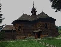 Roubený barokní kostel Panny Marie Sněžné