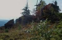 Černé  skály  nad  loveckou  chatou Alicí