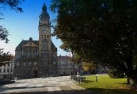 Přes historické centum Prostějova