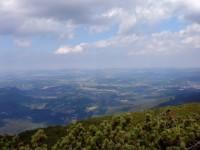 výhled ze Svorové hory