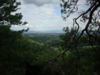 Výhled směrem na Uherské Hradiště